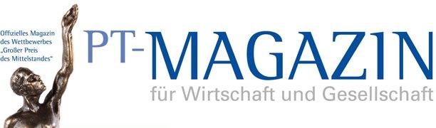 P.T. Magazin Logo